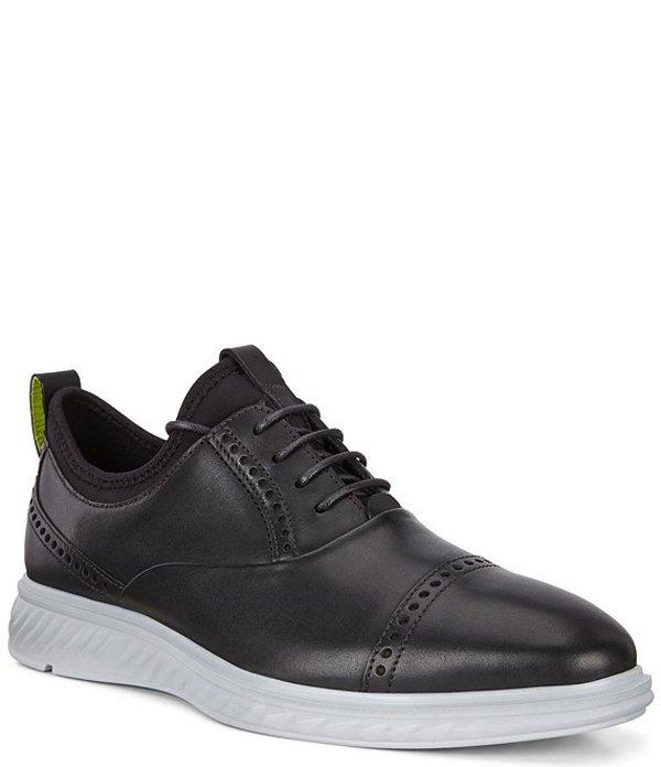エコー メンズ ドレスシューズ シューズ Men's ST.1 Hybrid Lite LX Tie Leather Shoes Black