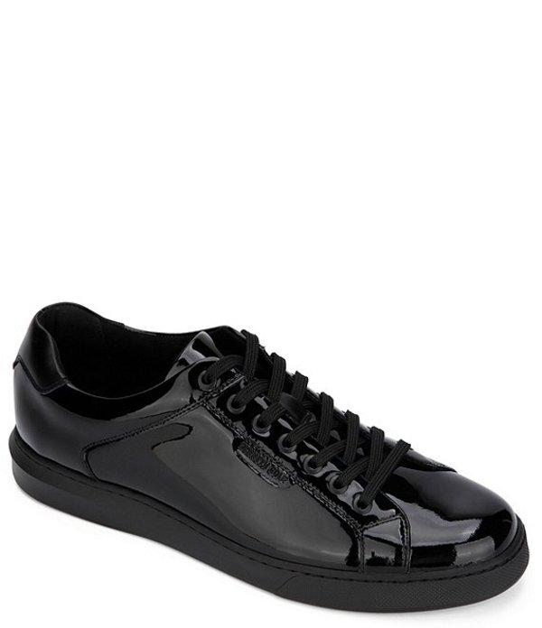 ケネスコール メンズ ドレスシューズ シューズ Men's Liam Patent Leather Sneakers Black