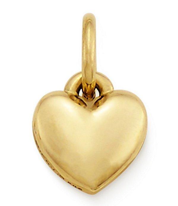 ジェームズ エイヴリー レディース ネックレス・チョーカー アクセサリー Mini Heart Charm 14K Gold