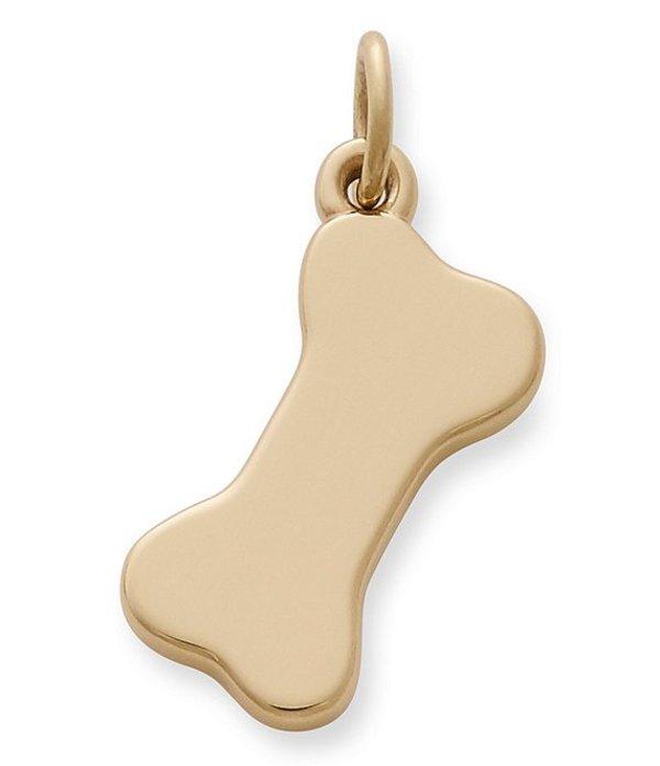 ジェームズ エイヴリー レディース ネックレス・チョーカー アクセサリー 14K Gold Dog Bone Charm Gold