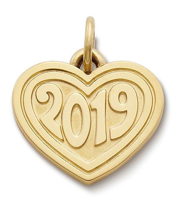 ジェームズ エイヴリー レディース ネックレス・チョーカー アクセサリー Heart 2019 Charm Gold