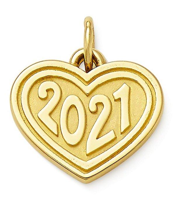 ジェームズ エイヴリー レディース ネックレス・チョーカー アクセサリー Heart 2021 Charm Gold