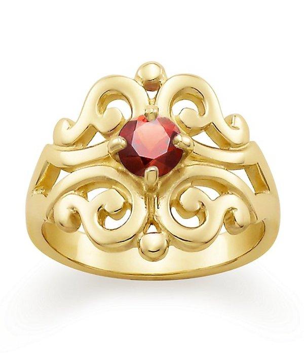 ジェームズ エイヴリー レディース 指輪 アクセサリー Spanish Lace Ring January Birthstone with Garnet 14k Gold/Garnet