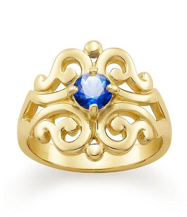 ジェームズ エイヴリー レディース 指輪 アクセサリー Spanish Lace Ring September Birthstone with Lab-Created Blue Sapphire Gold / blue Sapphire