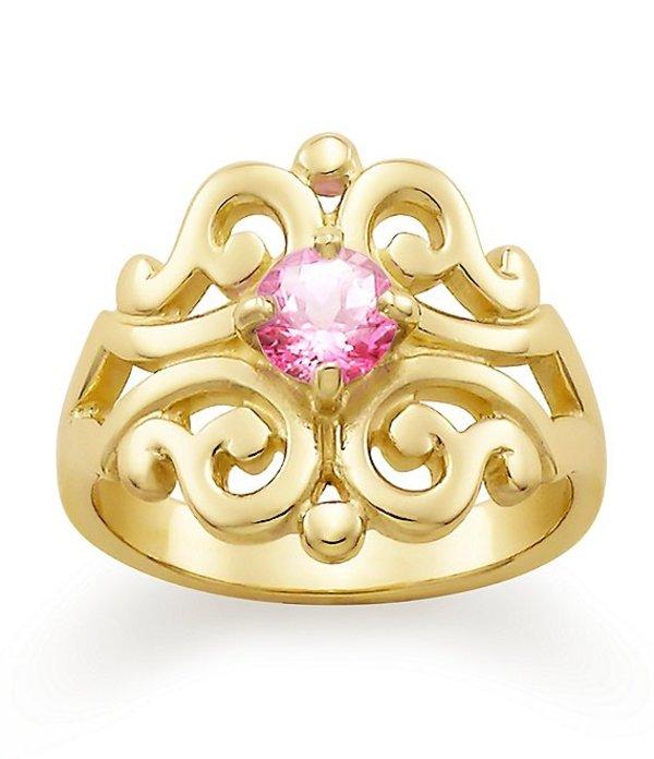 ジェームズ エイヴリー レディース 指輪 アクセサリー Spanish Lace Ring with Lab-Created Pink Sapphire 14K Gold/Pink Sapphire