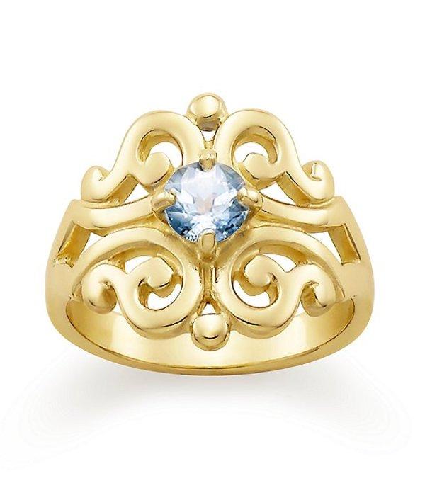 ジェームズ エイヴリー レディース 指輪 アクセサリー Spanish Lace Ring March Birthstone with Lab-Created Aqua Spinel 14k Gold/Aqua Spinel