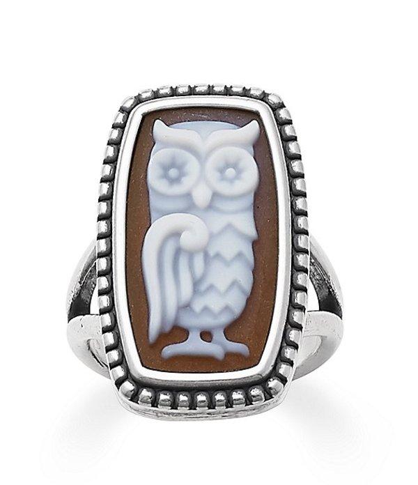 ジェームズ エイヴリー レディース 指輪 アクセサリー Owl Cameo Ring Sterling Silver