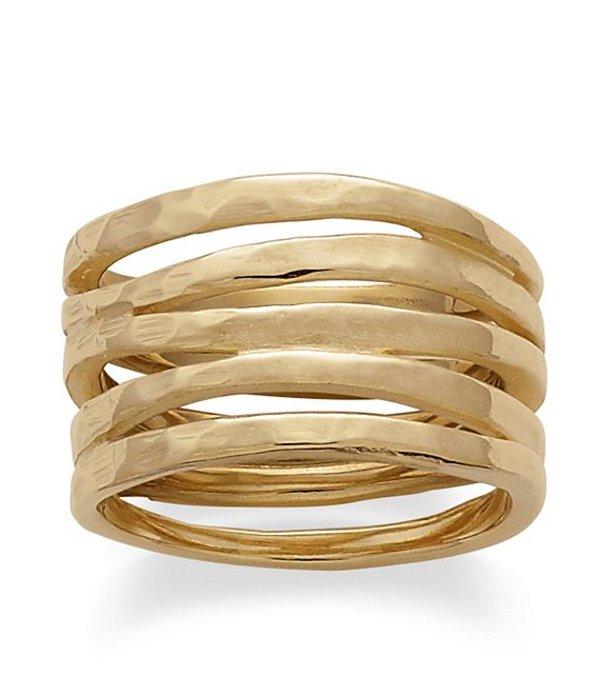 ジェームズ エイヴリー レディース 指輪 アクセサリー 14K Gold Stacked Hammered Ring 14K Gold