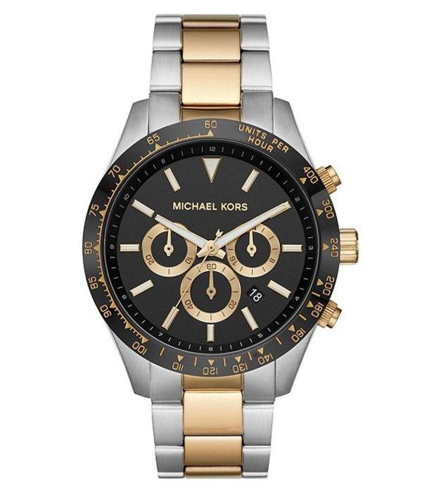 マイケルコース レディース 腕時計 アクセサリー Layton Chronograph Two-Tone Stainless Steel Watch Two Tone
