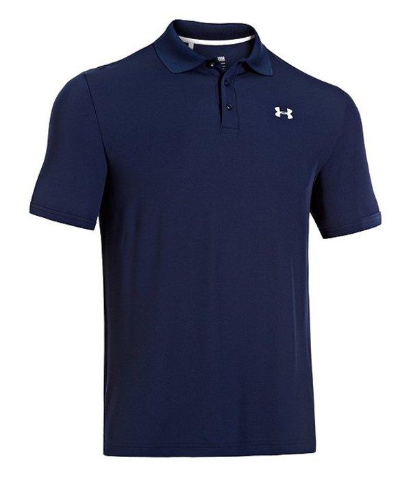アンダーアーマー レディース シャツ トップス HeatGearR Golf Performance Loose Polo Shirt Academy/White