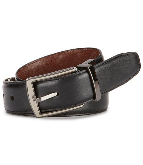 ラウンドトゥリーアンドヨーク レディース ワンピース トップス Hi-Lo Reversible Leather Belt Black