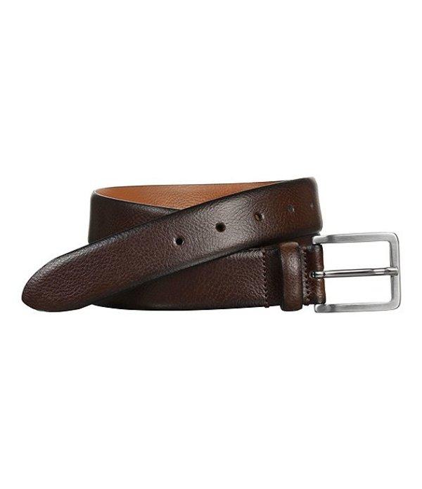 ジョンストンアンドマーフィー レディース ワンピース トップス Men's Feather Edge Dress Belt Brown