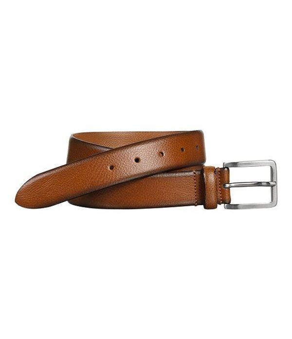 ジョンストンアンドマーフィー レディース ワンピース トップス Men's Feather Edge Dress Belt Tan