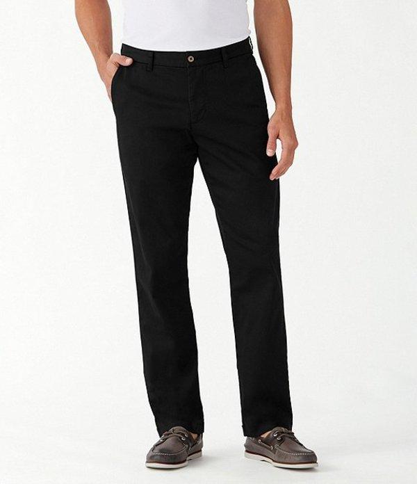 トッミーバハマ レディース カジュアルパンツ ボトムス Boracay Flat-Front Stretch Sateen Pants Black