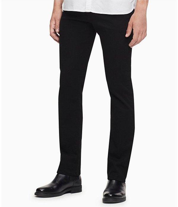 カルバンクライン レディース デニムパンツ ボトムス Jeans CKJ Slim Fit Jeans Forever Black
