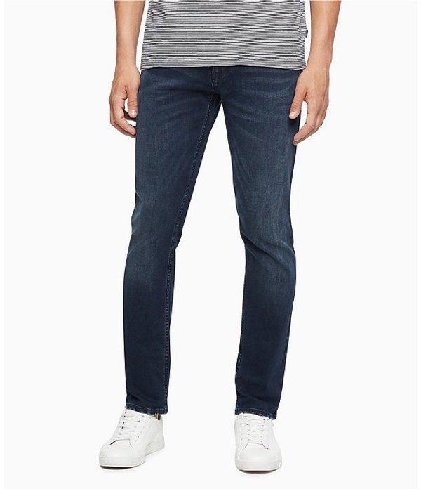 カルバンクライン レディース デニムパンツ ボトムス Jeans CKJ Straight Fit Jeans Boston Blue