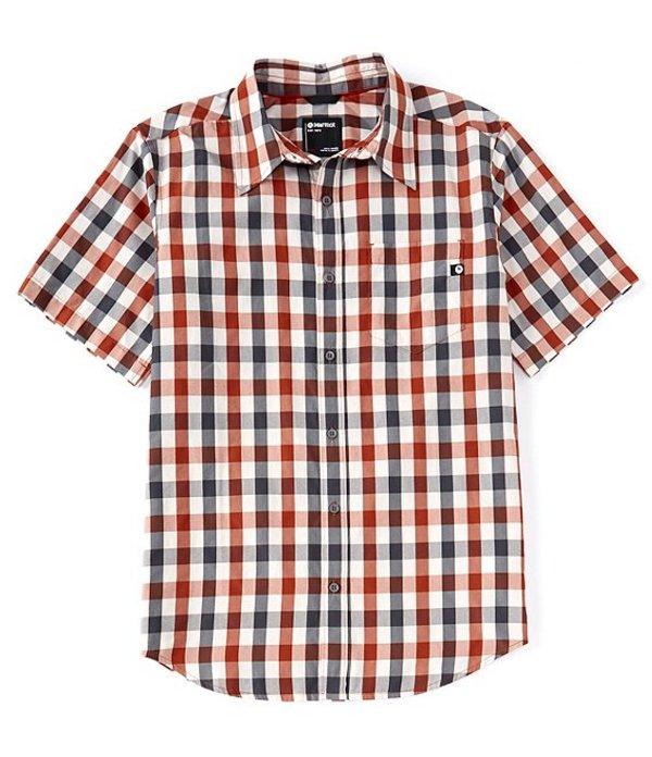 マーモット レディース シャツ トップス Kingswest Short-Sleeve Woven Shirt Picante