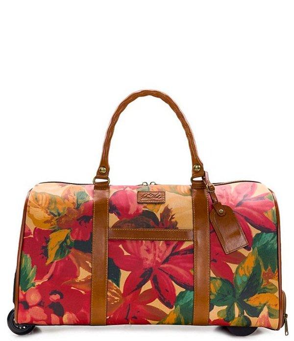 パトリシアナシュ レディース ボストンバッグ バッグ Avola Floral Multi Wheeled Duffel Floral Multi