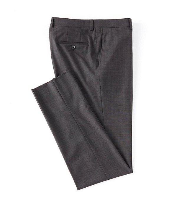 ダニエル クレミュ レディース ワンピース トップス Modern Fit Flat Front Solid Dress Pants Charcoal