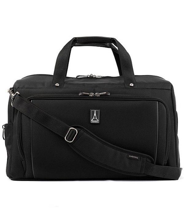 トラベルプロ レディース ボストンバッグ バッグ Crew Versapack Weekender Carry-On Duffel Bag with Suiter Jet Black