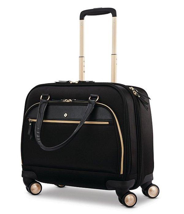 サムソナイト レディース スーツケース バッグ Mobile Solution Small Office Spinner Carry-On Black