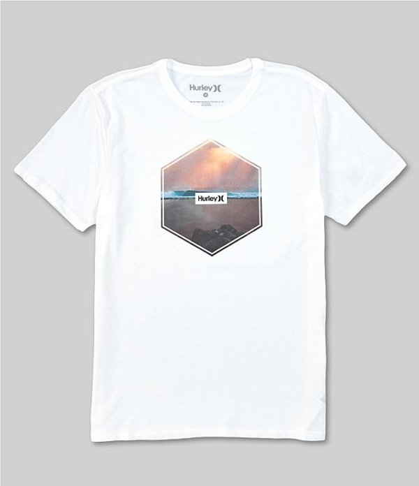 ハーレー レディース シャツ トップス Dri-FIT Hex Short Sleeve T-Shirt White