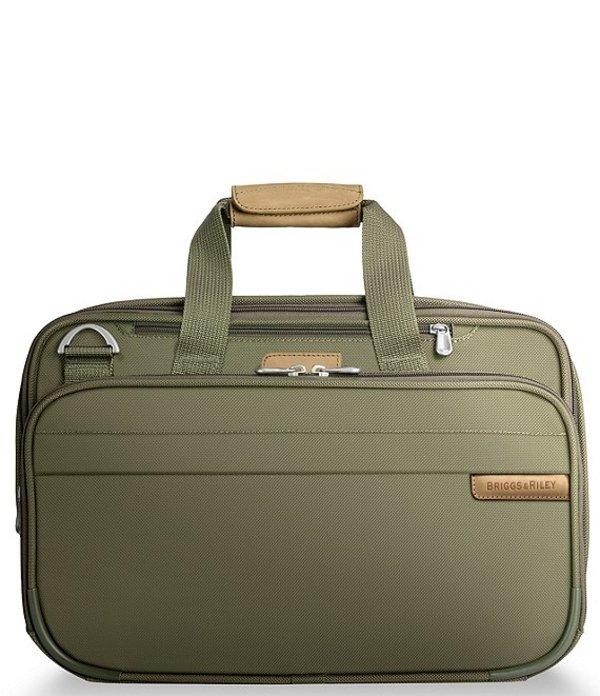 ブリグスアンドライリー レディース ボストンバッグ バッグ Baseline Expandable Cabin Bag Olive