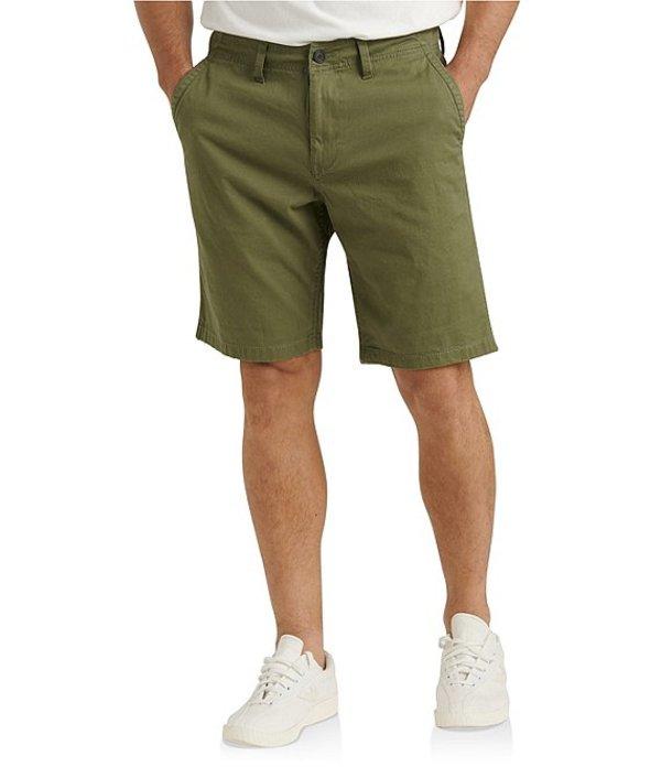 ラッキーブランド レディース ハーフパンツ・ショーツ ボトムス Saturday Stretch Classic Fit Flat-Front Twill 10#double; Inseam Shorts Four Leaf Green