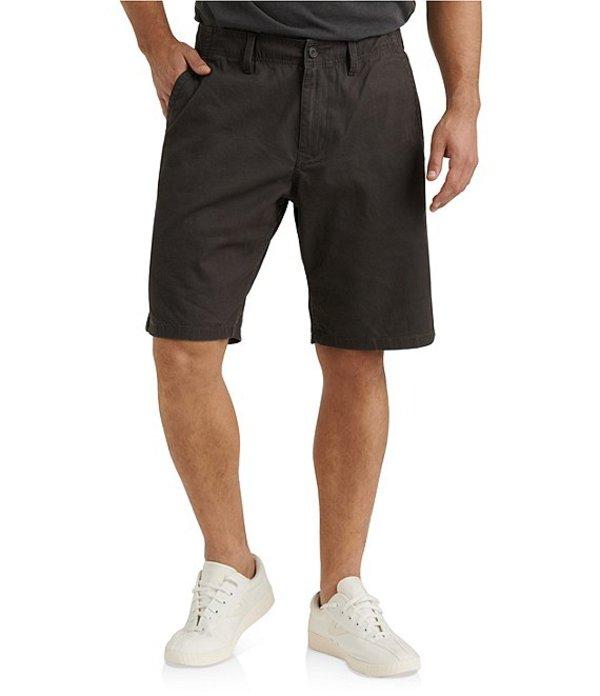 ラッキーブランド レディース ハーフパンツ・ショーツ ボトムス Saturday Stretch Classic Fit Flat-Front Twill 10#double; Inseam Shorts Raven