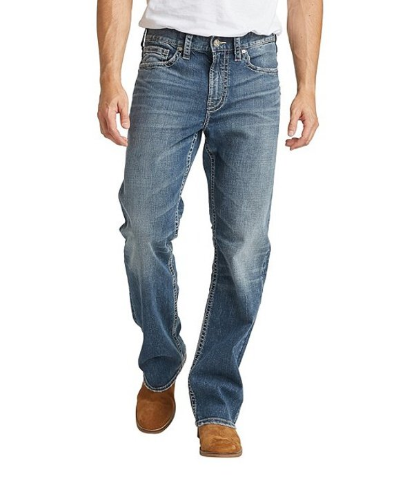 シルバー ジーンズ レディース デニムパンツ ボトムス Craig Relaxed Bootcut Jeans Indigo