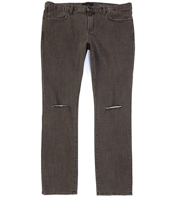 ジョンバルベイトス レディース デニムパンツ ボトムス Bowery Slim-Straight Stretch Denim Jeans Stone Grey