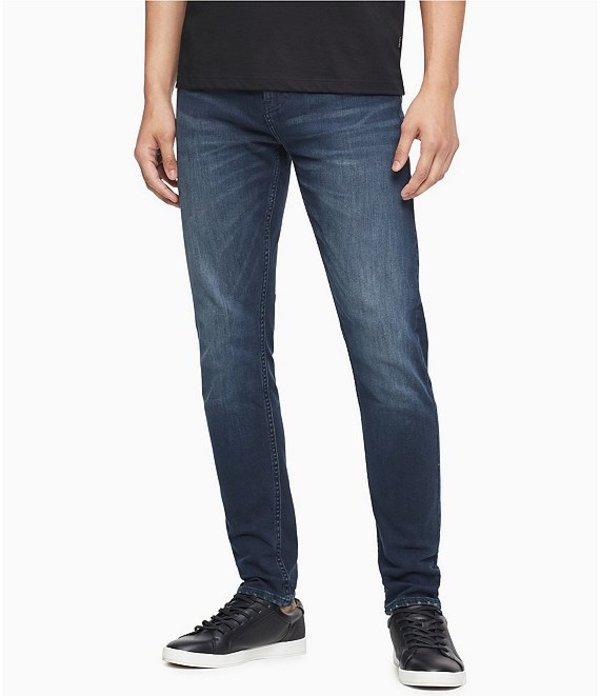 カルバンクライン レディース デニムパンツ ボトムス Jeans CKJ Skinny Fit Jeans Boston Blue