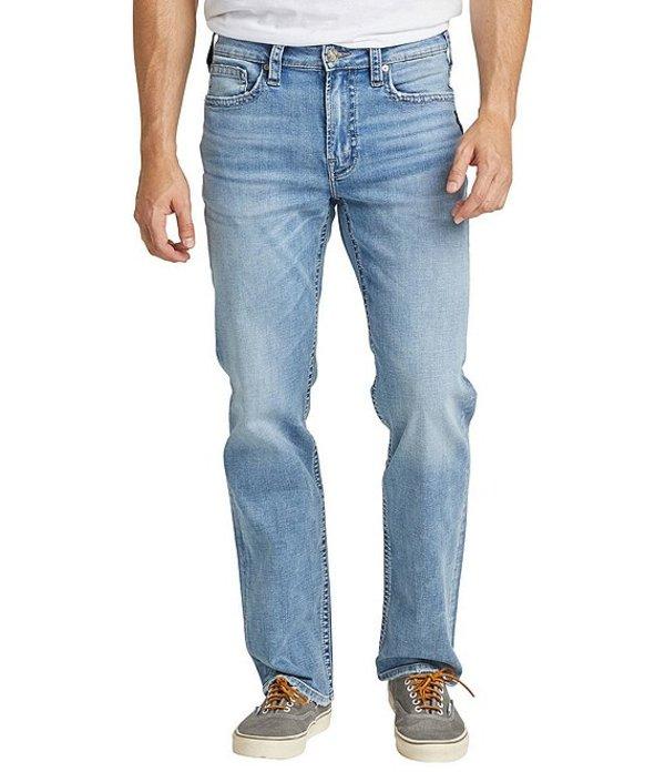 シルバー ジーンズ レディース デニムパンツ ボトムス Grayson Easy Straight Medium Wash Jeans Indigo
