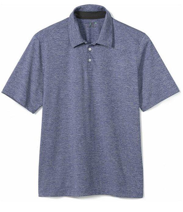 ジョンストンアンドマーフィー レディース シャツ トップス XC4 Solid Stretch Short-Sleeve Golf Polo Shirt Navy