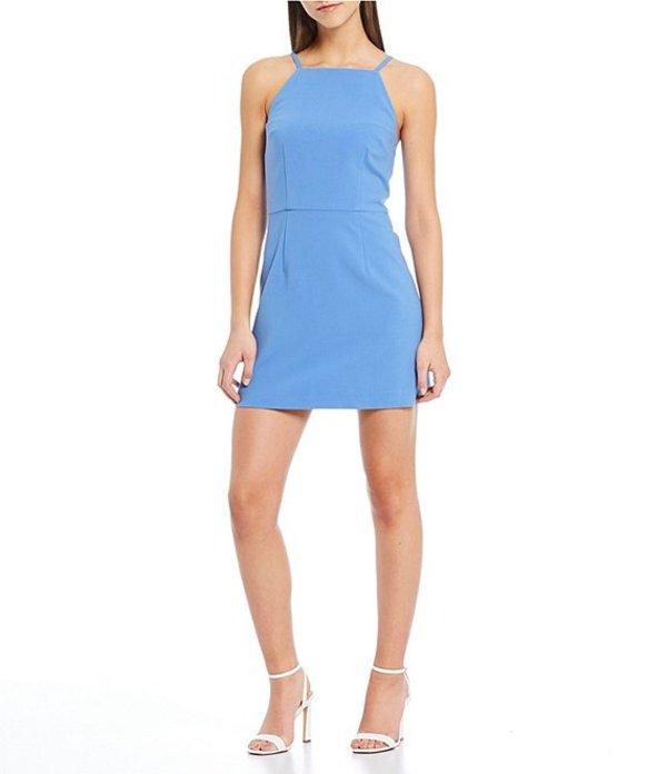 フレンチコネクション レディース ワンピース トップス Whisper Light Square Neck Sheath Dress Chalk Blue