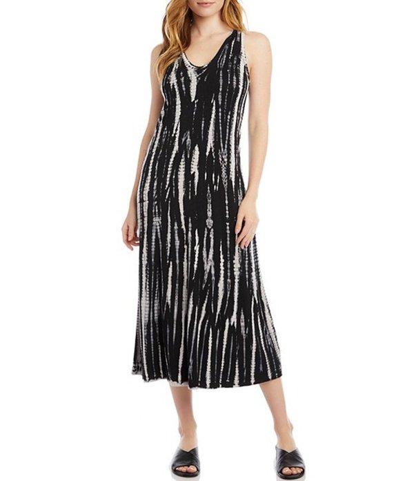 カレンケーン レディース ワンピース トップス Sleeveless Tie-Dye Stretchy Midi Dress Tie Dye