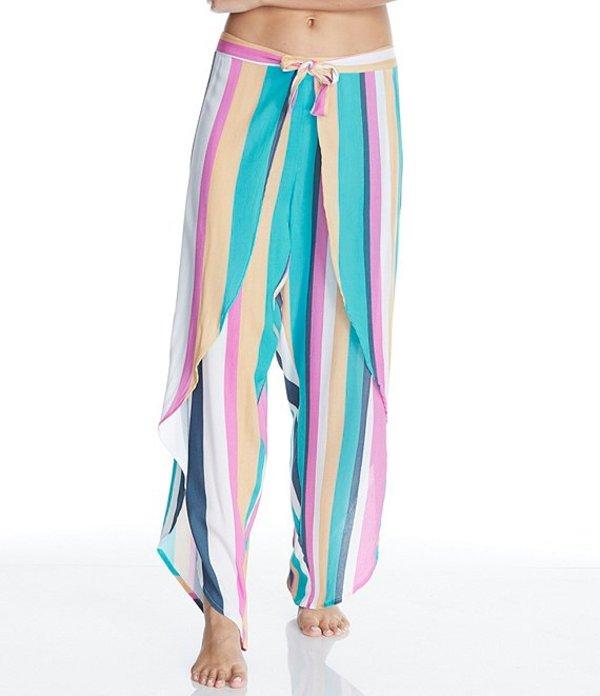ライジンズ レディース カジュアルパンツ ボトムス Belle Mar Colorblock Stripe Summer Cover Up Pant MidnightSzMqpUV