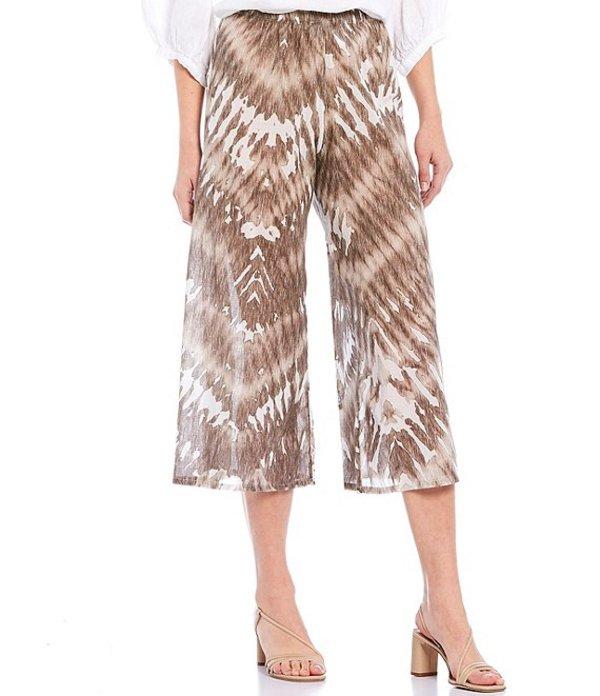 ブライン ウォーカー レディース カジュアルパンツ ボトムス Eli Light Linen Tie-Dye Print Pull-On Crop Pant Sand