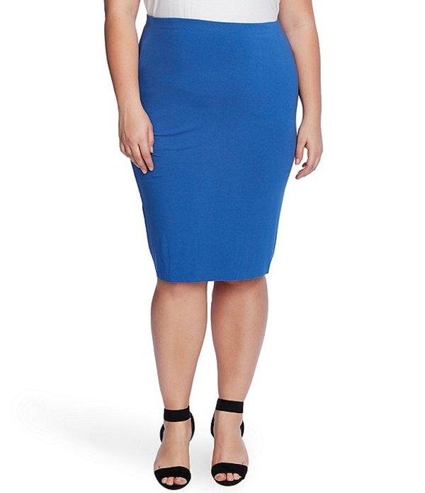 ヴィンスカムート レディース スカート ボトムス Plus Size Midi Tube Skirt Dusk Blue