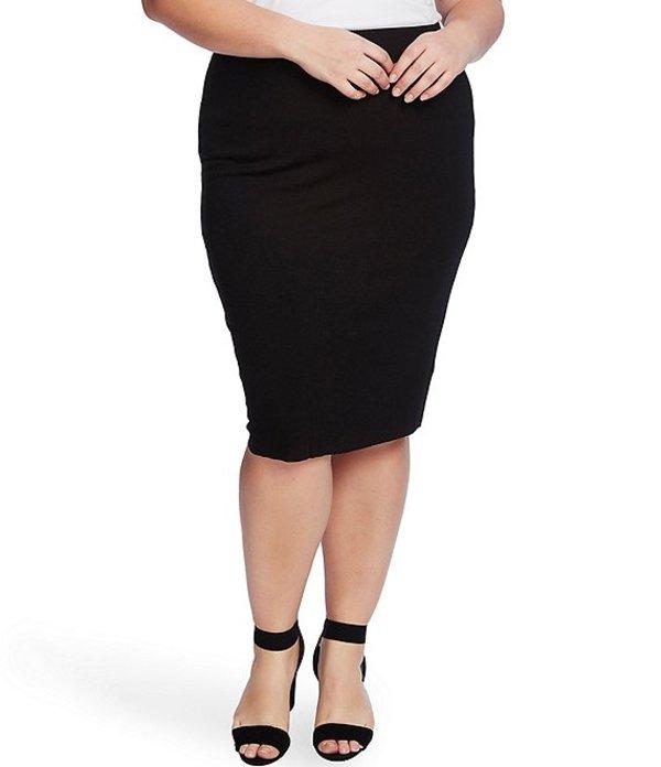 ヴィンスカムート レディース スカート ボトムス Plus Size Midi Tube Skirt Rich Black