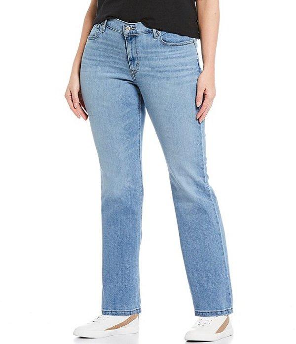 リーバイス レディース デニムパンツ ボトムス Levi'sR Plus Size Classic Straight Leg Jeans Oahu Morning Dew
