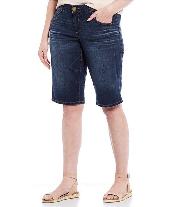 デモクラシー レディース ハーフパンツ・ショーツ ボトムス Plus Size Ab-solution Bermuda Shorts Blue