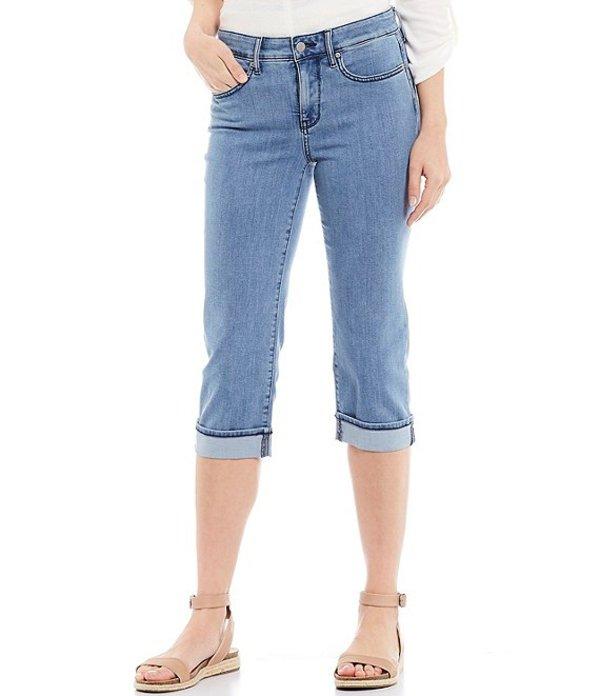 エヌワイディージェイ レディース デニムパンツ ボトムス Marilyn Cuffed Crop Cool EmbraceR Denim Jeans Delray