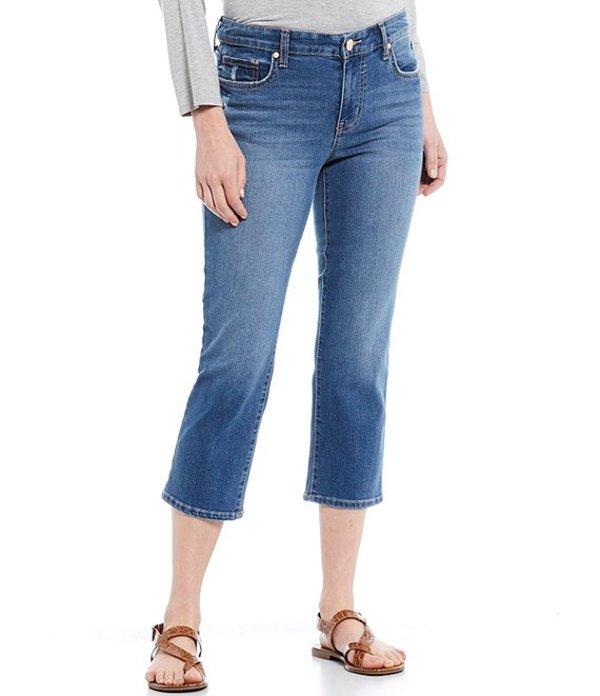 コード ブルー レディース デニムパンツ ボトムス Classic Capri Jeans Edie