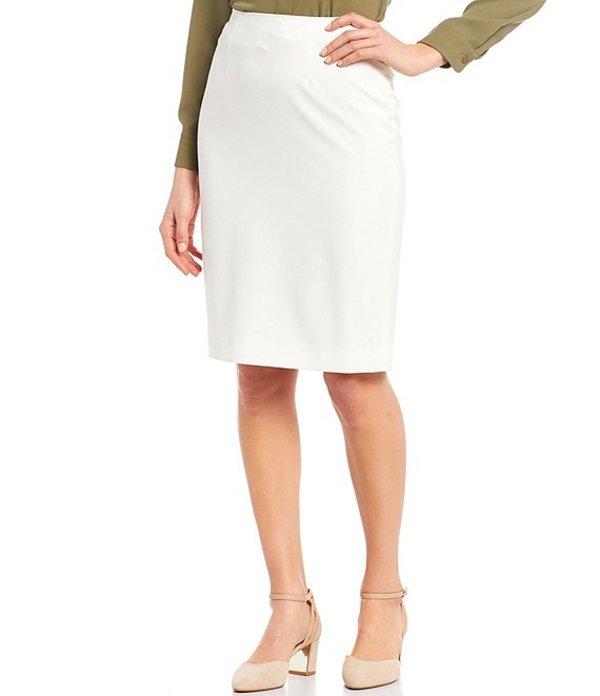 アレックスマリー レディース スカート ボトムス Reese Melange Pencil Machine Washable Skirt Ivory