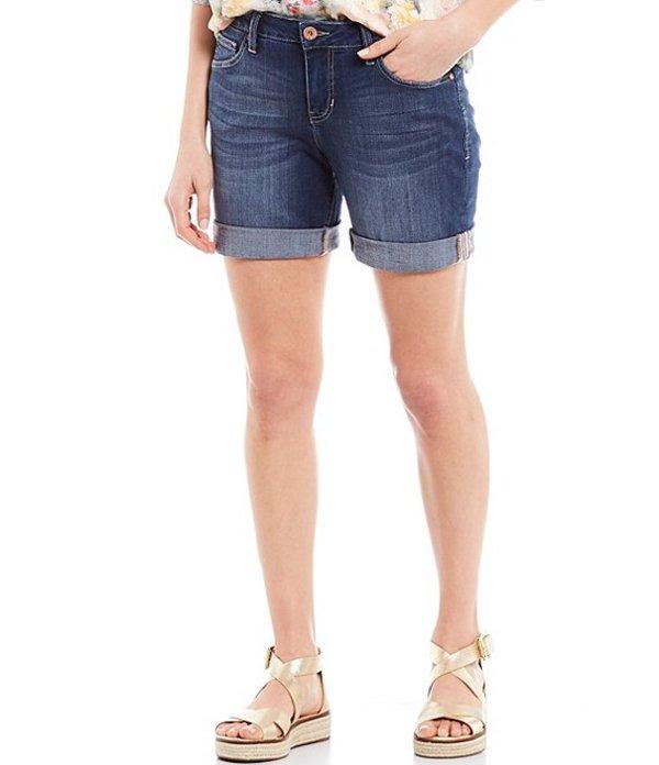 ジャグジーンズ レディース ハーフパンツ・ショーツ ボトムス Carter Girlfriend Rolled Hem Shorts Mystic