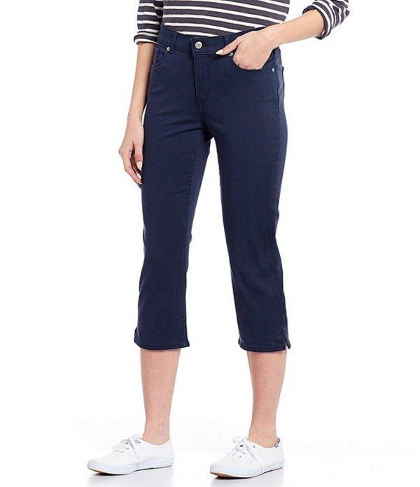 リーバイス レディース デニムパンツ ボトムス Levi'sR Classic Capri Side Slit Stretch Denim Jeans Nightfall Navy