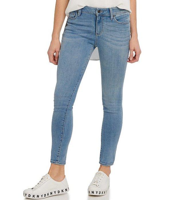 ダナ キャラン ニューヨーク レディース デニムパンツ ボトムス Jeans Stretch Denim High Rise Skinny Ankle Jeans Pure Blue