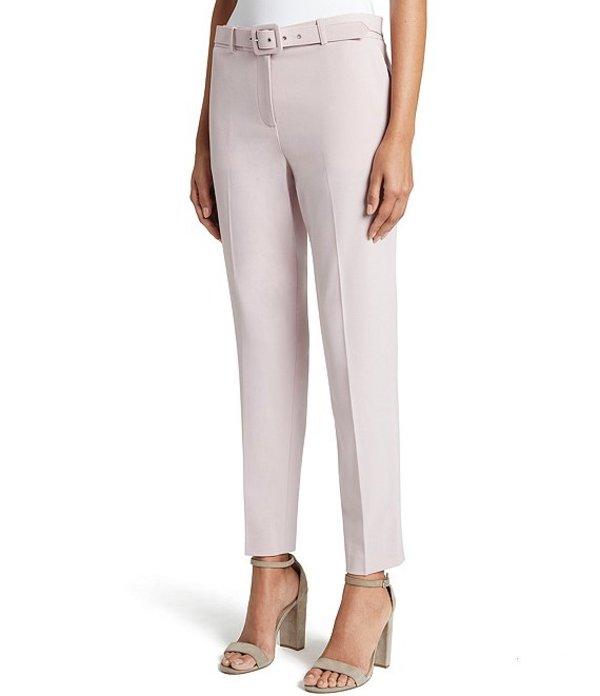 タハリエーエスエル レディース デニムパンツ ボトムス Petite Size Bi-Stretch Ankle Belted Pant Pale Pink