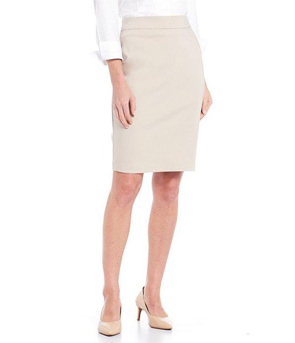 インベストメンツ レディース スカート ボトムス Elite Stretch Back Zip Pencil Skirt Sand
